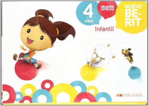 Religión Católica Infantil 4 años (Nuevo Berit) - 9788426383563