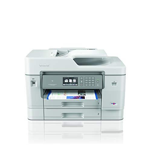 Brother MFCJ6945DW Stampante Multifunzione Inkjet A3 4 in 1 a Colori con NFC, Rete Cablata e Wi-Fi, Duplex in Stampa, ADF da 50 Fogli e Display Touchscreen a Colori da 6.8 cm