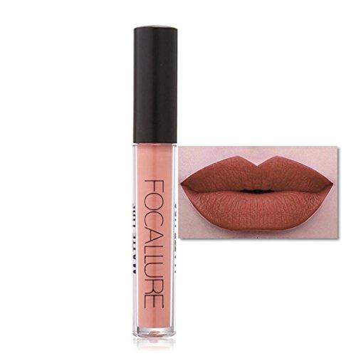 Yogogo Rouge à LèVres Nouveau CosméTiques Mode MéTalliquepour Maquillage Beauté Longue DuréE