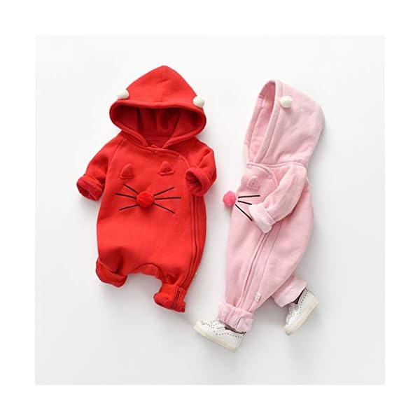 Traje de Moda Infantil Vogue Bebé recién Nacido bebé niña niño Floral Volante Mameluco Mono Trajes de Mono Conveniente… 5