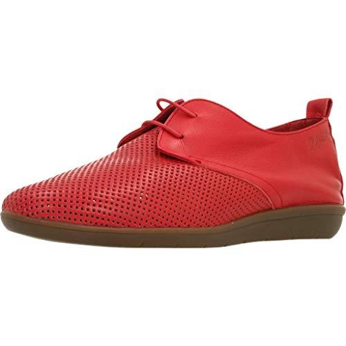 Zapatos de Cordones para Mujer, Color marr�n (Claus), Marca 24 HORAS, Modelo Zapatos De Cordones para Mujer 24 HORAS 24008 Marr�n