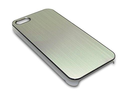 Sandberg Aluminium-Cover für iPhone 5/5S silber
