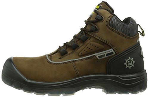 Marrom marrom 858 Homens Geos Segurança Sapatos De Corredor Segurança De 38 858 Ue n07Hpqxw8