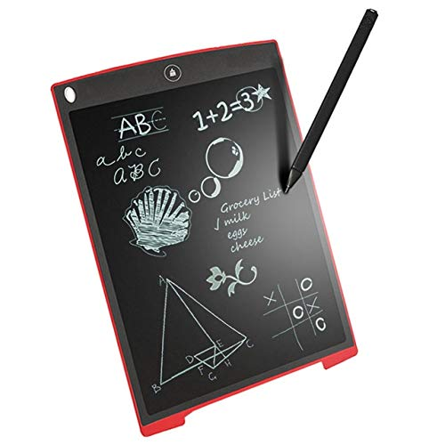 """Rewy 15R 8.5"""" E-Writer LCD Writing Pad Paperless Memo Digital Tablet/Notepad/Stylus Drawing for Erase Button & Pen to Write (Random Colour)"""