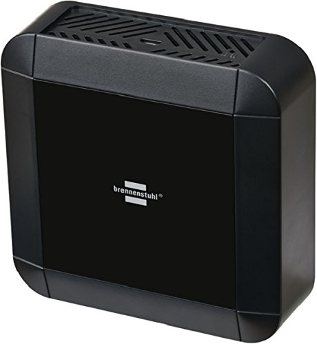 Brennenstuhl Brematic PRO Home Automation Gateway (Smart Home Zentrale 868 mhz, optimaler Datenschutz, Sprachsteuerung mit Amazon Alexa oder per App) schwarz