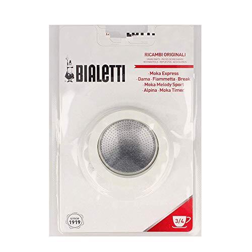 Bialetti 0800003 Filtre à café 4 pièces pour machine à café