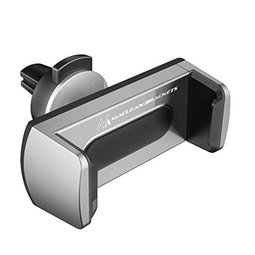 Maclean Comfort Series MC-783 Universal KFZ Smartpfone Halterung Auto Handyhalterung 360° 58-87 mm (Lüftungsgitter-Montage) -