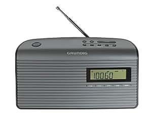 Grundig Music 61 empfangsstarkes Radio, schwarz/graphit