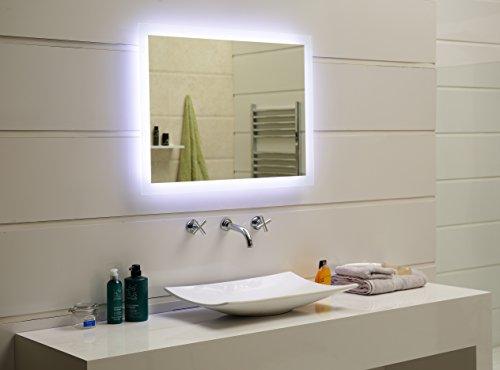 LED Spiegel - LED Badezimmerspiegel mit Tageslicht 100 x 70 cm