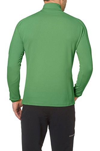 VAUDE Herren Hemd Mens Calbuco Halfzip Basil Green