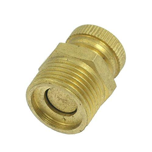 Naliovker Air Kompressor Pt 1/4 Zoll Außengewinde Wasserablaufventil Messing Ton