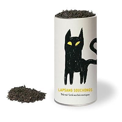 Lapsang Souchongs - Thé noir fumé aux bois exotiques. Les thés du chat. LES THÉS DU CHAT®