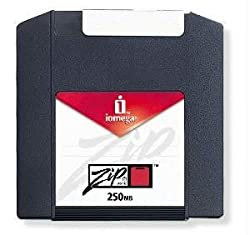 Iomega Zip 250Mb Kartusche (Pc Formatiert, 2er Pack) (Auslaufmodell)