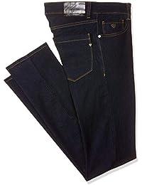 HEFASDM Mens Straight-Leg Plaid Fitted Washed Jeans Biker Shorts