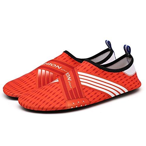 Unisex Wasser Schuhe Hankyky Anti-Rutsch-Aqua Schuhe Socken Quick Dry Atmungsaktive Beach Swim Surf Yoga Outdoor Soft - Mens Wasser-schuhe Size 11