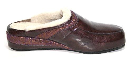 Fortuna, Pantofole donna Viola viola Viola (Violett (bordo/vino 617))