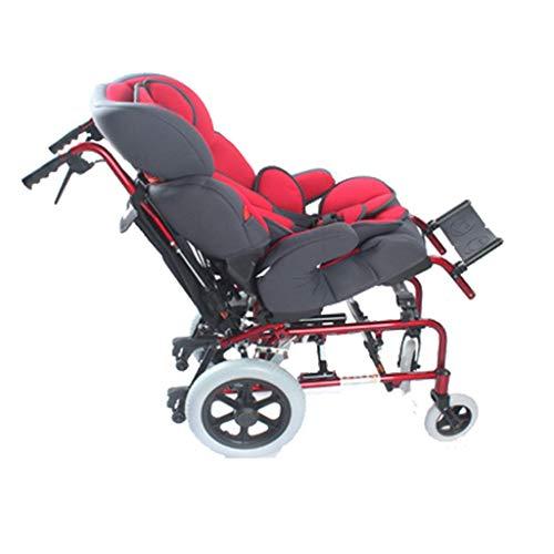 Y-L Sport- und Freizeitrollstühle, Kinderrollstühle Sind Leicht, Transportrollstühle Faltbare Sitzbreite 36Cm