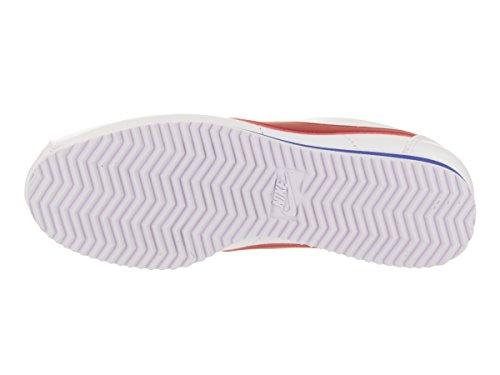 Nike Damen Wmns Classic Cortez Leather Gymnastikschuhe Elfenbein (White/varsity Red/varsity Royal)