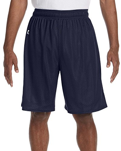 Mesh Shorts Navy (Nylon Tricot Mesh kurz – True Red – S Nylon Tricot Mesh kurz Gr. Large, Blau - Navy)