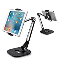 AboveTEK Aluminum Long Arm Tablet Stand