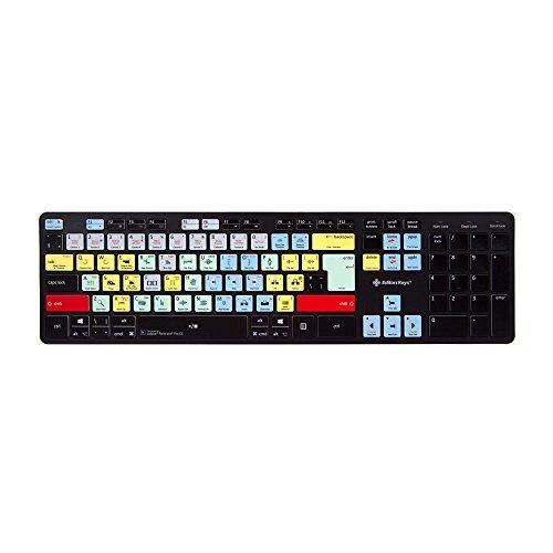 Adobe Premiere Tastatur - Slimline PC & Mac Kompatibel (Adobe Premiere Für Mac)