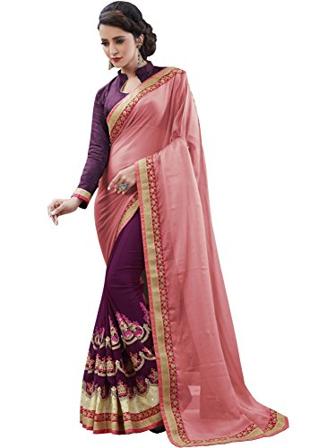 Sareeshop Georgette Saree With Blouse Piece (S105_Multi_Free Size)