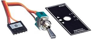 Graupner 4151.2  - Interruptor E/A corto (2 canales) importado de Alemania