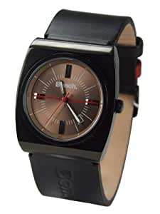 Bench BC0034BK Watch with Black Leather Strap