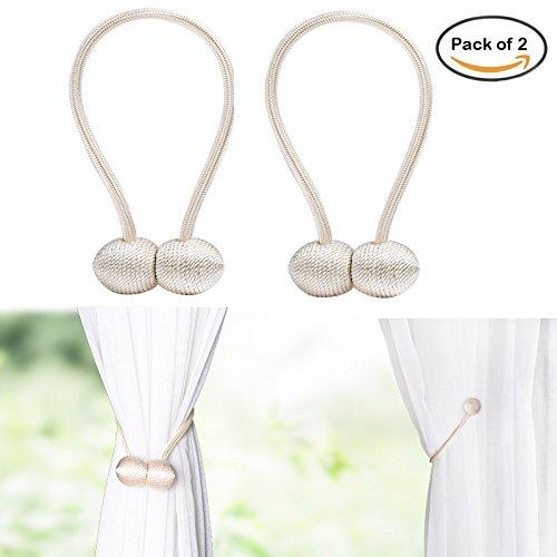 2 Silber Metallisch Magnetisch Schleierstoff Netz Vorhang Vorhänge