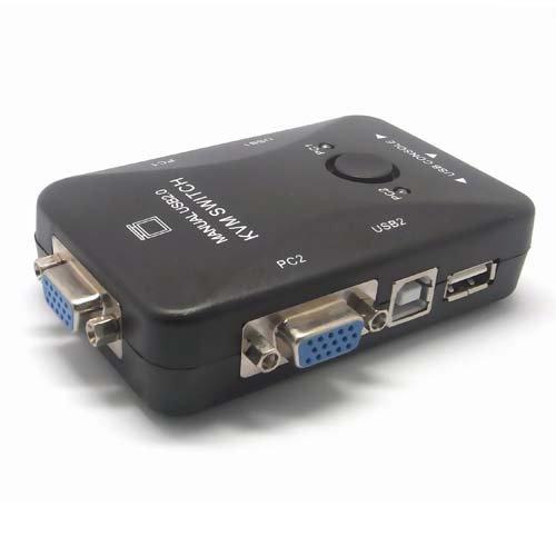 Sienoc adapter-switch KVM 2puerto conmutador KVM 2x conmutador KVM