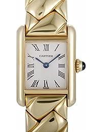 Cartier Tanque Louis Cartier Cuarzo Mujer Reloj 169407 (Certificado) de Segunda Mano