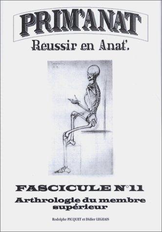 ARTHROLOGIE DU MEMBRE SUPERIEUR