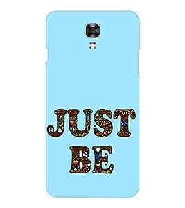 EPICCASE Just Be Mobile Back Case Cover For LG X Power (Designer Case)