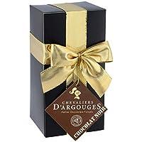 Assortiment de chocolats noir 70% - Ballotin cadeau Noël Chevaliers d'Argouges 185g