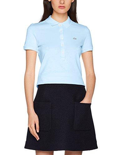 Lacoste Damen Poloshirt Pf7845, Blau (Ruisseau) (Herstellergröße: 44)