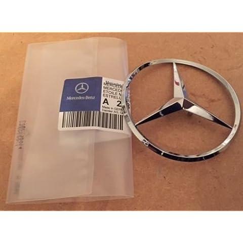 Badge bagagliaio baule Mercedes CLK W20972mm Genuine Boot Badge taglio Cabriolet