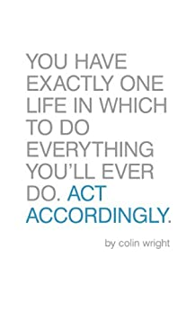 Act Accordingly by [Wright, Colin]