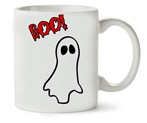 Boo Halloween Funny Ghost Klassische Teetasse Kaffeetasse