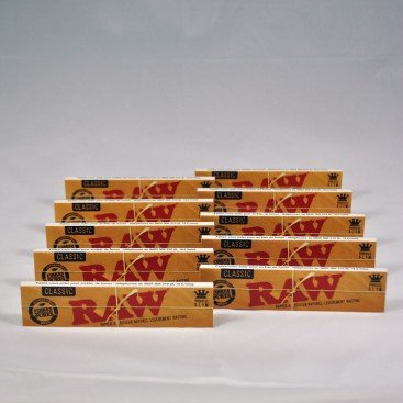 Raw - Papier A Rouler Grande Taille 15 Lots (15x32=480) Naturel Non Rafiné Alternative A Rizla