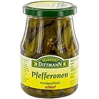 Feinkost Dittmann Pfefferonen scharf, 165 g
