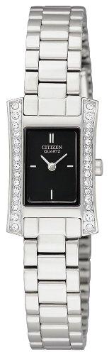 Citizen Damen-Armbanduhr Analog Quarz Edelstahl EZ6310-58E