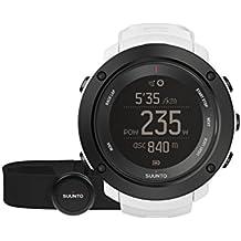Suunto Unisex Ambit3 Multisport GPS-Uhr, 15 Std. Akkulaufzeit, Herzfrequenzmesser + Brustgurt (Gr. M), Wasserdicht bis 100 m