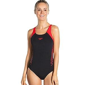 41FFKcBV3ML. SS300 Speedo Boom Splice Muscleback  Costume da Bagno  Donna