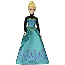 Frozen - Muñeca, Elsa y sus vestidos (Mattel CMM31)