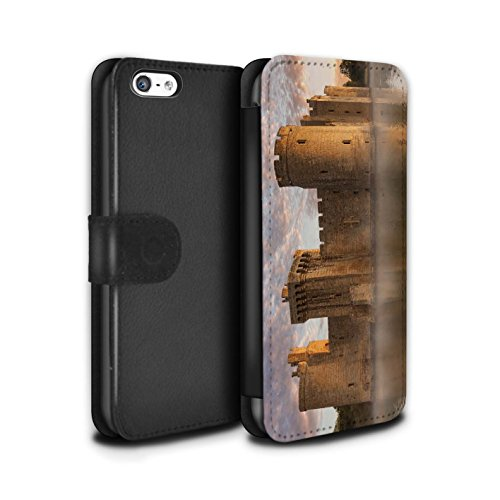 Stuff4 Coque/Etui/Housse Cuir PU Case/Cover pour Apple iPhone 5C / Pack 9pcs Design / Château Fort Collection Fossé