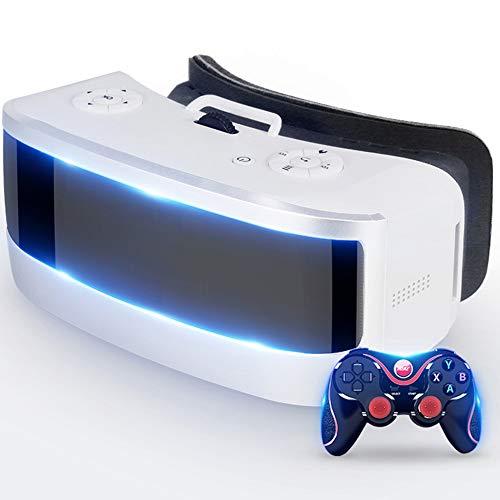 Kopfhörer Der Virtuellen Realität, HD Vr Eine Maschine 3D-Brille Der Virtuellen Realität 4K-Bildschirm Kopf-Angebrachte Theater-Spiel-Maschinen-Sturzhelm Wifi-Anzeigen-Ausrüstung