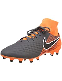 OBRA 2 CLUB FG - Fußballschuh Nocken - dark grey/black/total orange/white