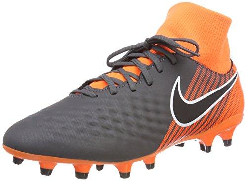 Nike Herren Magista Obra 2 Academy DF FG AH7303 080 Fitnessschuhe, Mehrfarbig (Dark Grey/Black Tota 080), 43 EU