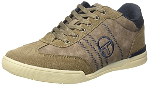 Sergio Tacchini Herren St Raphael Low-top Marrone (antilope)