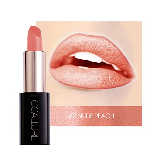20 Farben Matt Lippenstift, Huihong FOCALLURE Samt matt Lippenstift Makeup wasserdicht Lipgloss fit...